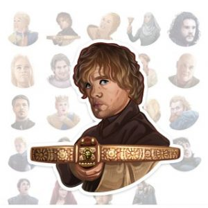 Stickers Game of Thrones Telegram