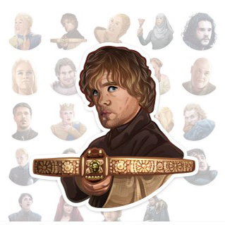 Stickers Game of Thrones